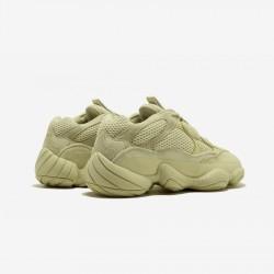 """Adidas Yeezy 500 """"Super Moon Yellow"""" DB2966 Yellow Sumoye/Sumoye/Sumoye Casual Shoes"""