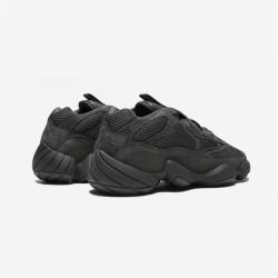 "Adidas Yeezy 500 ""Utility Black"" F36640 Black Utiblk/Utiblk/Utiblk Casual Shoes"