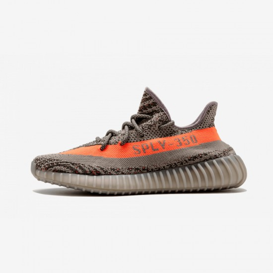 Adidas Yeezy Boost 350 V2 BB1826 Grey Stegry/Beluga/Solred Casual Shoes