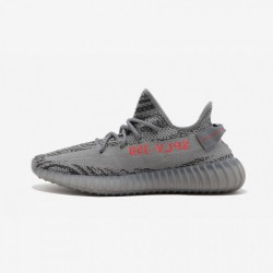 "Adidas Yeezy Boost 350 V2 ""Beluga 2.0"" AH2203 Grey Grey/Bold Orange/Dark Solid Gr Casual Shoes"