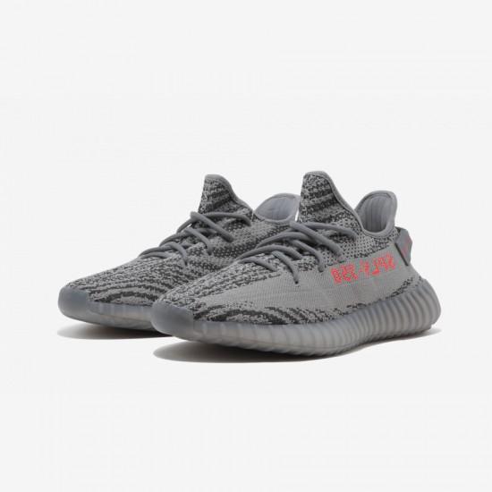 """Adidas Yeezy Boost 350 V2 """"Beluga 2.0"""" AH2203 Grey Grey/Bold Orange/Dark Solid Gr Casual Shoes"""