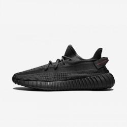 "Adidas Yeezy Boost 350 V2 ""Black - Non Reflective"" FU9006 Black Black/Black/Black Casual Shoes"