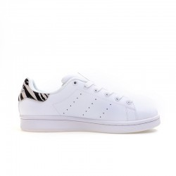 Adidas Originals Stan Smith White Black Gray Unisex Sneakers B26590