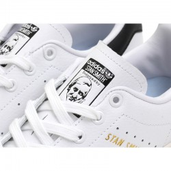 Adidas Originals Stan Smith White Black Unisex Leather Sneakers S75076