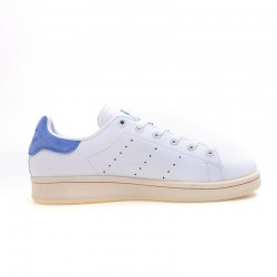 Adidas Originals Stan Smith White Deep Blue Unisex Leather Sneakers S80026