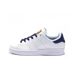 Adidas Originals Stan Smith Brown Deep Blue White Unisex Sneakers BA7299
