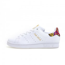 Adidas Originals Stan Smith White Black Leather Unisex Sneakers CQ2814