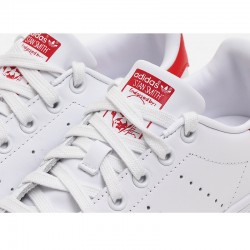 Adidas Originals Stan Smith Unisex White Red Sneakers M20326