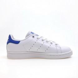Adidas Originals Stan Smith White Deep Blue Unisex Sneakers S74778