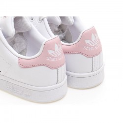 Adidas Originals Stan Smith Womens Light Pink White Sneakers BA9946