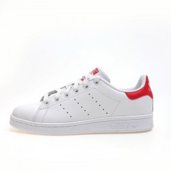 Adidas Originals Stan Smith Unisex White Red Sneakers M20326
