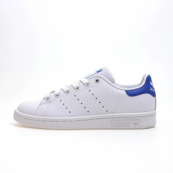Adidas Originals Stan Smith White Deep Blue Unisex Sneakers S74778