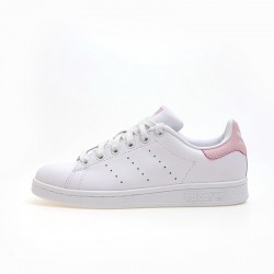 Adidas Originals Stan Smith Womens Light Pink White Sneakers BA9946