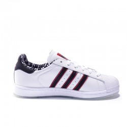 Superstar 50 Adidas 2020 Black White Red Unisex Casual Shoes FW6593