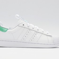 Superstar 50 Adidas 2020 White Green Black Unisex Casual Shoes FW2847