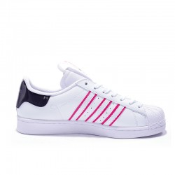 Superstar 50 Adidas 2020 White Purple Blac Unisex Casual Shoes FW2818