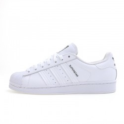 Superstar Adidas 2020 White Black Unisex Casual Shoes FW2861