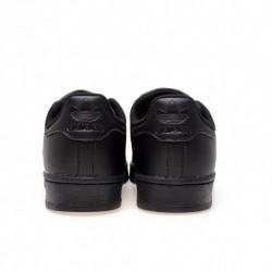 Adidas Superstar All Black Unisex Casual Shoes AF5666