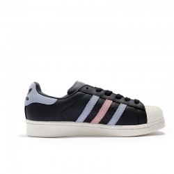 Adidas Superstar Unisex Black White Blue Pink Casual Shoes BB2141