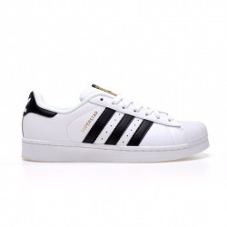 Adidas Superstar Unisex White Black Gold Casual Shoes C77124