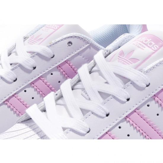 Newest Adidas Superstar White Light
