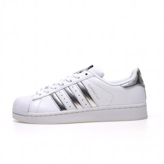 barrer zona manzana  Newest Adidas Superstar White Silver Unisex Casual Shoes AQ3091 - Adidas  Superstar Classic Shop Online