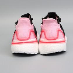 Womens Adidas Ultra Boost 19 Light Pink Black Running Shoes G26129
