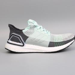 Womens Mens Adidas Ultra Boost 19 Green Black Running Shoes F35244