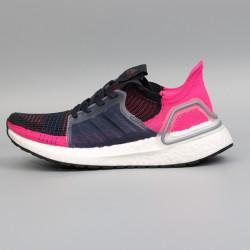 Womens Adidas Ultra Boost 19 Black Fuchsia Running Shoes G27481