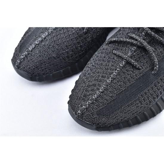 Adidas Yeezy Boost 350 V2 All Black Unisex Running Shoes FU9007