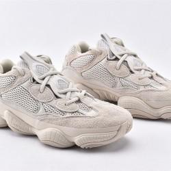 Adidas Yeezy 500 Blush Light Gray Unisex Running Shoes DB2908