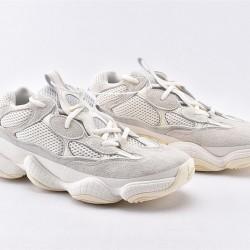Adidas Yeezy 500 Bone White Gray Unisex Running Shoes FV3573