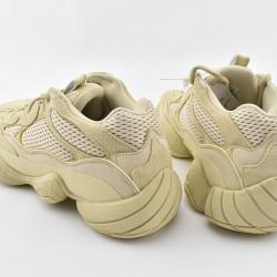 Adidas Yeezy 500 Desert Rat Beige Unisex Running Shoes DB2966