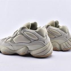 Adidas Yeezy 500 Stone Gray Beige Unisex Running Shoes FW4839