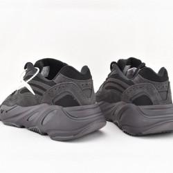 Adidas Yeezy 700 Black Unisex Running Shoes FU6684