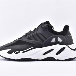 Adidas Yeezy 700 Black White Unisex Running Shoes EG6991