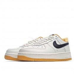 Nike Air Force 1 07 Beige Black Yellow CT7875-998 Sneakers