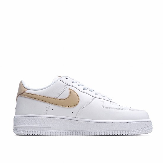 Nike Air Force 1 07 Low White Brown CZ0270-101 Sneakers