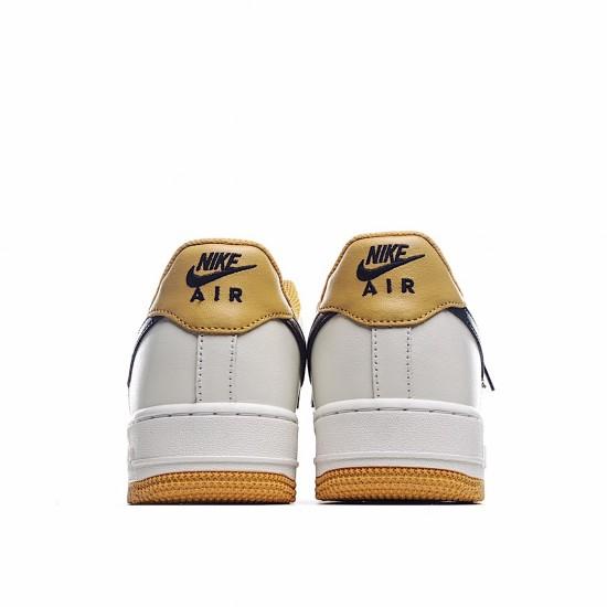 Nike Air Force 1 07 Low Yellow Black Beige AQ4134-604 Sneakers
