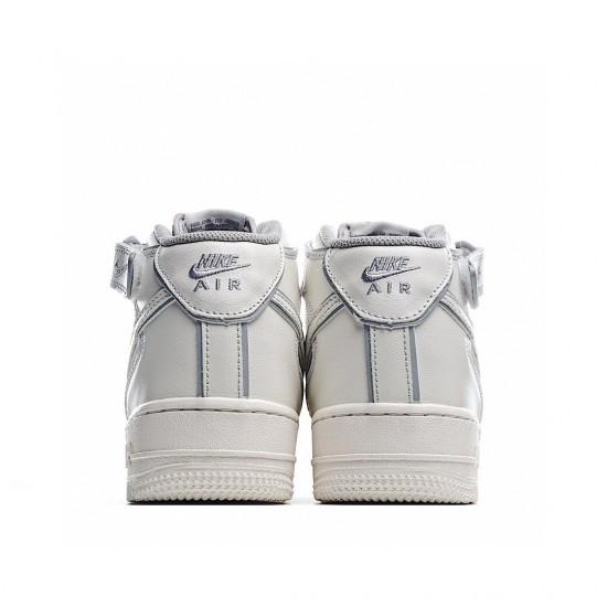Nike Air Force 1 07 Mid Beige Grey AQ1218-118 Sneakers
