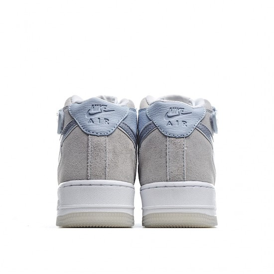Nike Air Force 1 07 Mid Light Armoury Blue AO2425-500 Sneakers