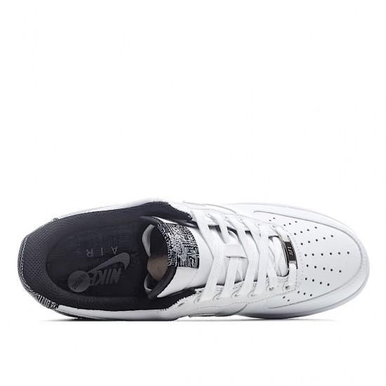 Nike Air Force 1 07 White Metallic Silver CZ7933-100 Sneakers