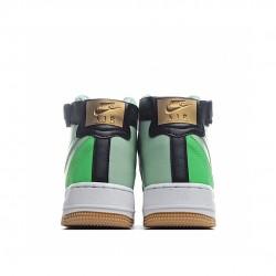 Nike Air Force 1 High NBA Green Black CT2306-300 Sneakers