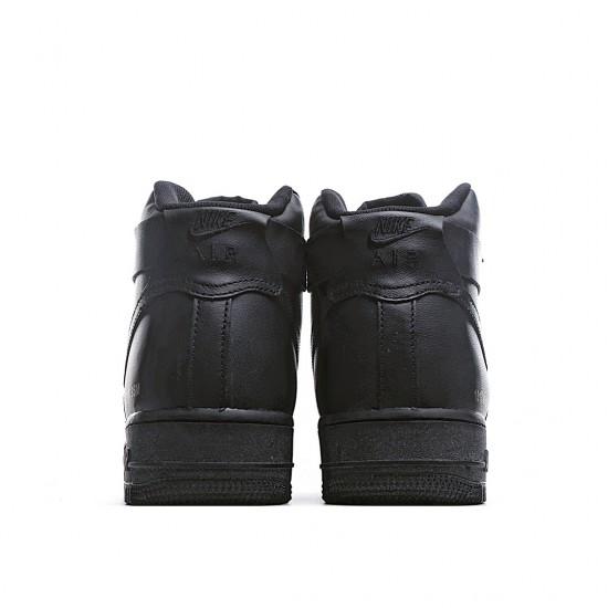 Nike Air Force 1 High Triple Black 2017 315121-032 Sneakers