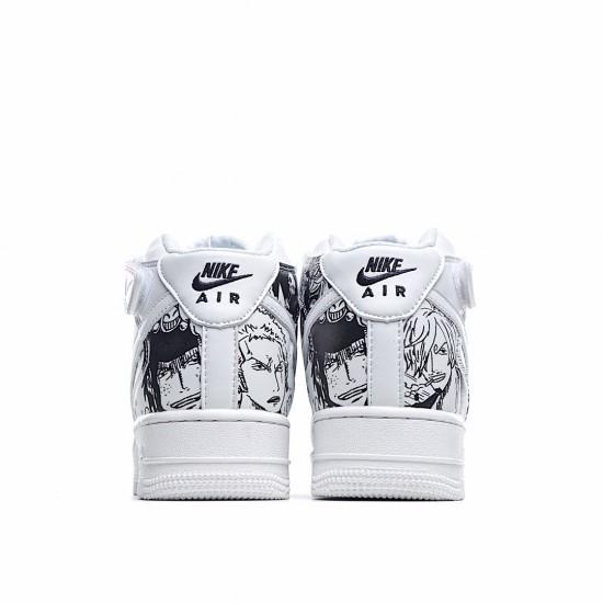 Nike Air Force 1 High White Black AQ8020-100 Sneakers