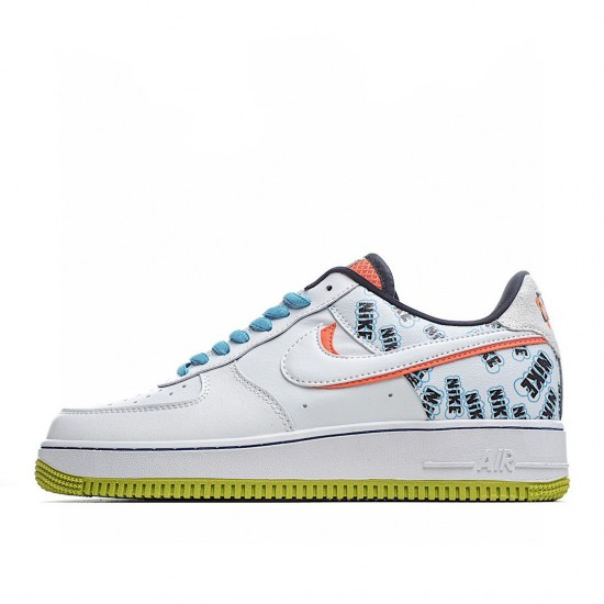 Nike Air Force 1 Low Back To School 2020 CZ8139-100 Sneakers