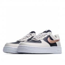 Nike Air Force 1 Low Beige Gold Black DB5080-200 Sneakers