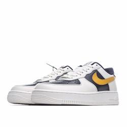 Nike Air Force 1 Low Black Beige Yellow AQ4134-403 Sneakers
