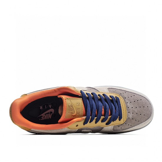 Nike Air Force 1 Low Brown Orange Yellow DD7209-105 Sneakers