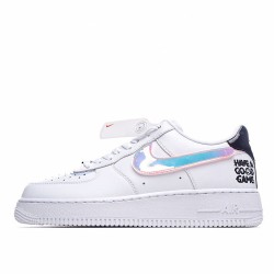 Nike Air Force 1 Low Good Game White Multi DC0710-191 Sneakers